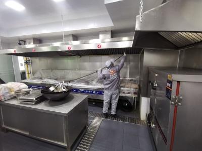 大型厨房清洗
